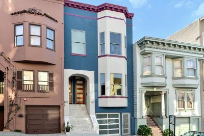 San Francisco County Multi Family Home For Sale: 1915 1917 Stockton St