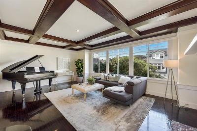 San Francisco County Single Family Home For Sale: 3973 3975 Clay St