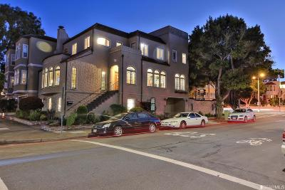 San Francisco County Single Family Home For Sale: 3159 Baker St