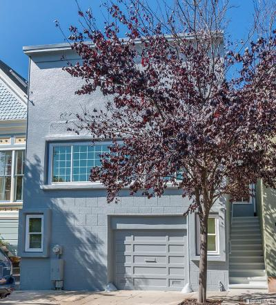San Francisco County Single Family Home For Sale: 176 Banks St