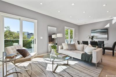 San Francisco County Single Family Home For Sale: 2865 A Bush St