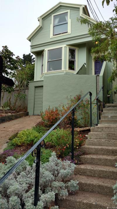 San Francisco County Single Family Home For Sale: 246 Bemis St
