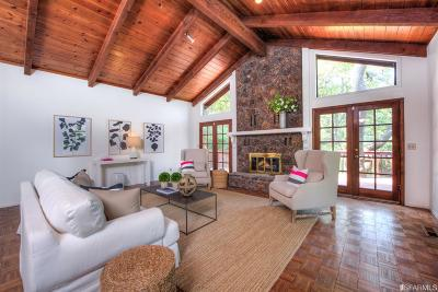 Marin County Single Family Home For Sale: 14 Bay Canyon Rd