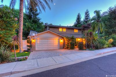 Marin County Single Family Home For Sale: 95 Robinhood Dr