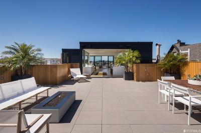 San Francisco County Multi Family Home For Sale: 132 136 Presidio Ave