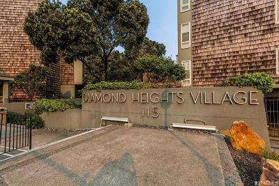 San Francisco County Condo/Townhouse Act Cont Show: 175 Red Rock Way #107K