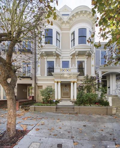 San Francisco CA Single Family Home For Sale: $7,500,000