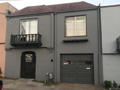 San Francisco County Single Family Home For Sale: 107 Hahn St