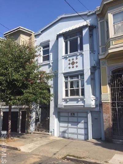 San Francisco County Multi Family Home For Sale: 859 861 South Van Ness Ave
