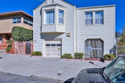 San Francisco County Single Family Home For Sale: 210 Teddy Ave