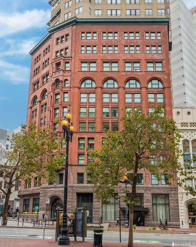 San Francisco County Condo/Townhouse For Sale: 690 Market St #905