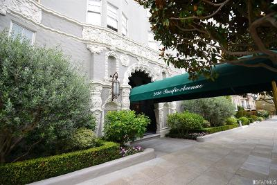 San Francisco County Condo/Townhouse For Sale: 2090 Pacific Ave #206