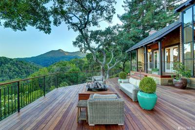 Marin County Single Family Home For Sale: 31 Upper Rd