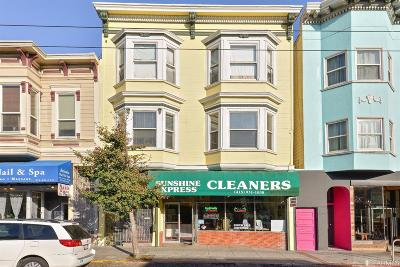 San Francisco Multi Family Home For Sale: 1818 1822 Divisadero St