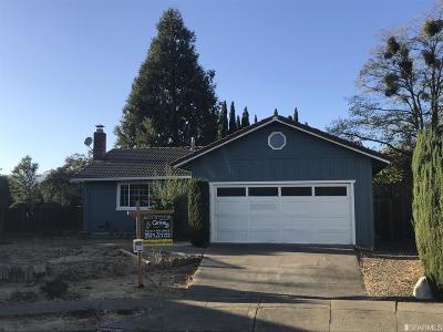Sonoma County Single Family Home For Sale: 950 Arguello Ct