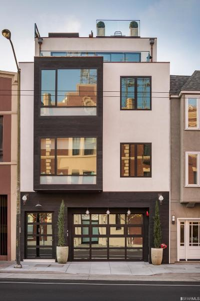 San Francisco Single Family Home For Sale: 935 937 North Point St