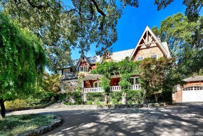 Marin County Single Family Home For Sale: 21 Glenwood Ave