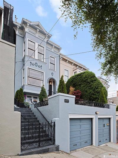 San Francisco County Single Family Home For Sale: 2517 Octavia St