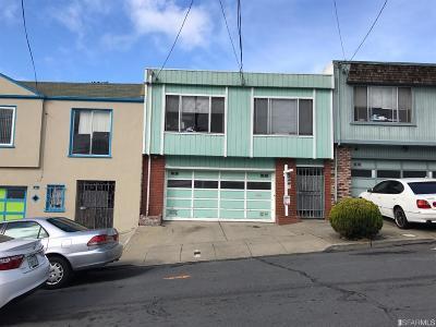 San Francisco Single Family Home For Sale: 30 Hahn St