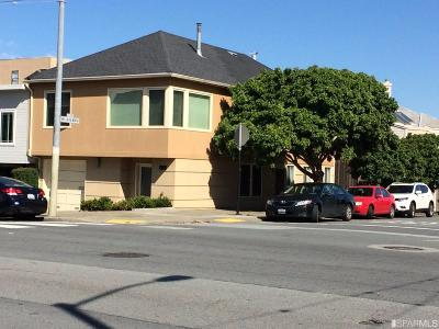 San Francisco County Single Family Home For Sale: 3100 Turk Blvd
