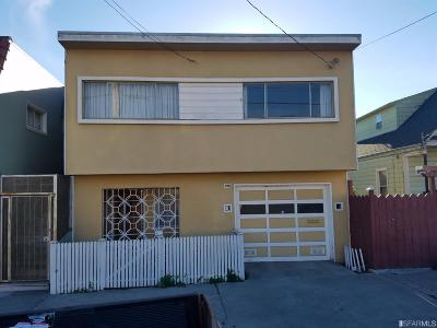 San Francisco Single Family Home For Sale: 1337 Revere Ave
