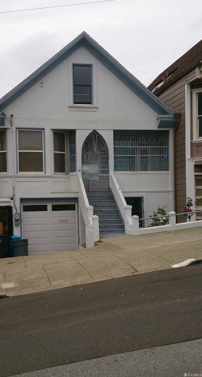 San Francisco Single Family Home For Sale: 43 Edna St