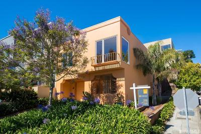 San Francisco Single Family Home For Sale: 1500 Diamond St