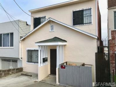 San Francisco Single Family Home For Sale: 2106 Revere Ave