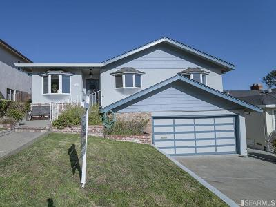 San Bruno Single Family Home Act Cont Rel Clause: 1940 Glen Ave