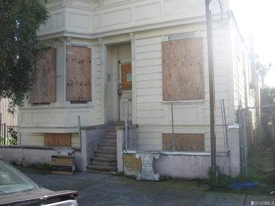 San Francisco Single Family Home For Sale: 137 Broad St