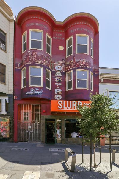San Francisco Multi Family Home For Sale: 465 469 Castro St