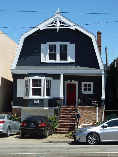 San Francisco Single Family Home For Sale: 2577 San Jose Ave