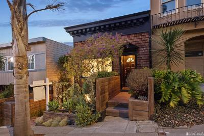 San Francisco Single Family Home For Sale: 352 Cumberland St