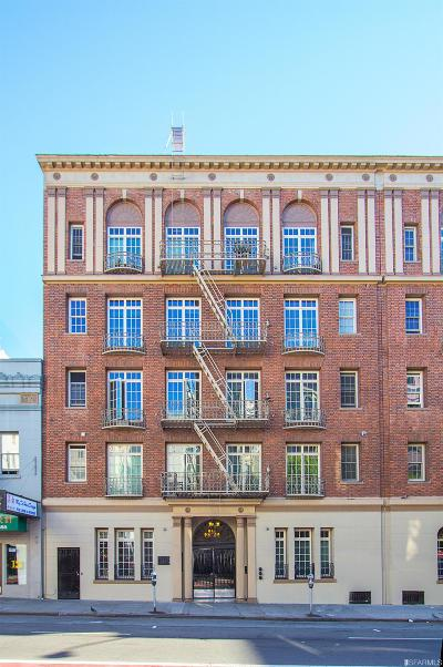 San Francisco Condo/Townhouse For Sale: 735 Geary St #101