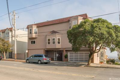 San Francisco Single Family Home For Sale: 3749 Clement St