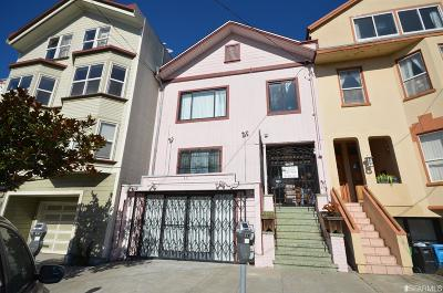 San Francisco Multi Family Home For Sale: 1918 1922 Clement St