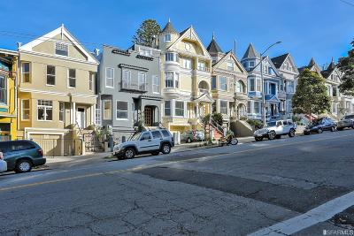 San Francisco Single Family Home For Sale: 1214 Masonic Ave