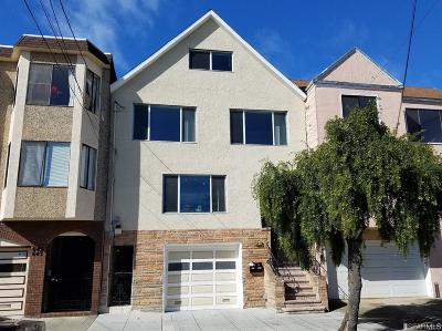San Francisco Multi Family Home For Sale: 639 41 35th Ave