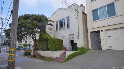 San Francisco Single Family Home For Sale: 1180 Plymouth Ave