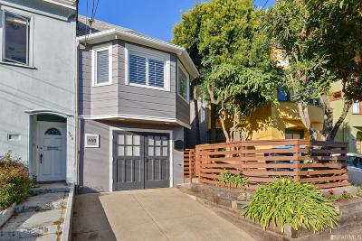 San Francisco Single Family Home For Sale: 650 Mangels Ave