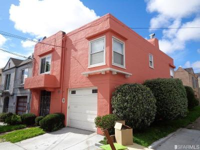 San Francisco Single Family Home Act Cont Show: 1600 Ingalls St