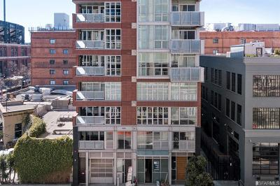 San Francisco Condo/Townhouse For Sale: 750 2nd St #301