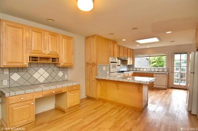 San Francisco Single Family Home For Sale: 1223 10th Ave