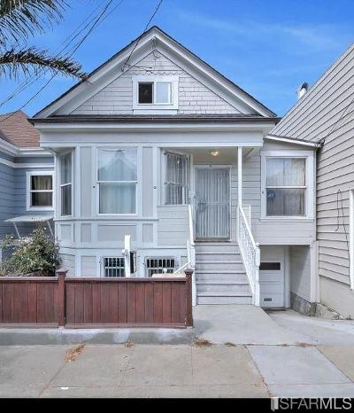 San Francisco Single Family Home For Sale: 342 Lisbon St