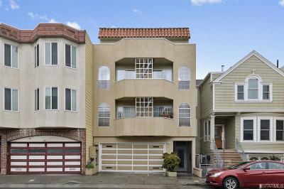 San Francisco County Condo/Townhouse For Sale: 437 25th Ave #3