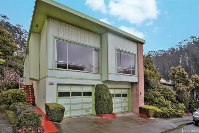 San Francisco Single Family Home For Sale: 14 Woodhaven Ct