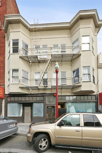 San Francisco Multi Family Home For Sale: 728 732 Broadway St