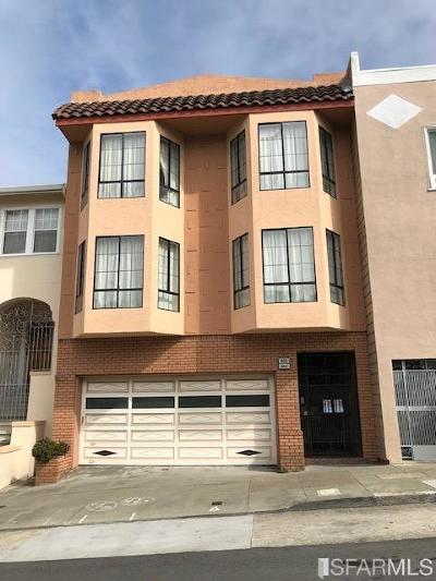 San Francisco Multi Family Home For Sale: 644 25th Ave