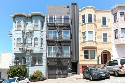San Francisco Condo/Townhouse For Sale: 412 Green St #A