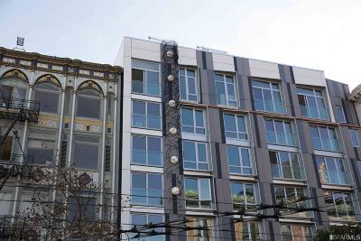 San Francisco Condo/Townhouse For Sale: 1075 Market St #607